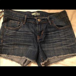 NWOT Old Navy Diva style denim shorts SIZE 2